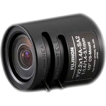 Toshiba 1.4-3.1mm Fisheye Lens (f/1.4)