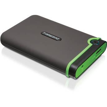 Transcend 500GB StoreJet 25M3 External Hard Drive (Green)
