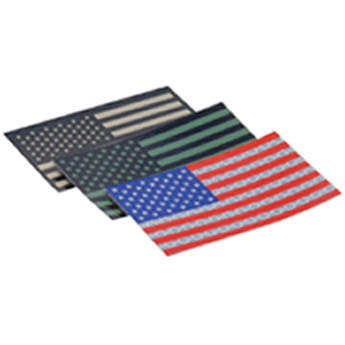 US NightVision Blackout IR Glo Tape USA Flag Foward (12 pack)