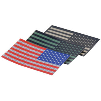 US NightVision Blackout IR Glo Tape USA Flag Reverse (12 pack)