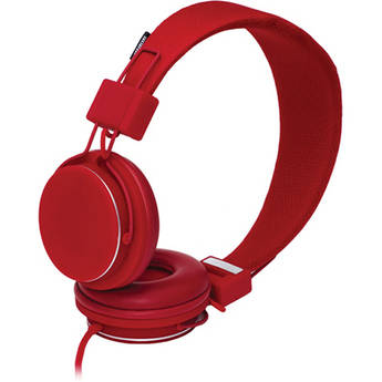 Urbanears Plattan Plus On-Ear Stereo Headphones (Red)