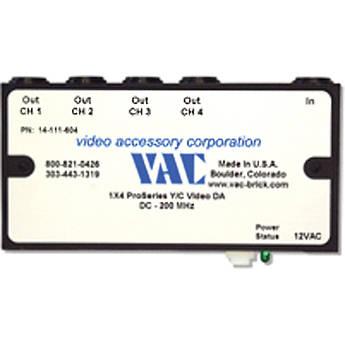 Vac 14-111-604 1x4 Y/C Distribution Amplifier