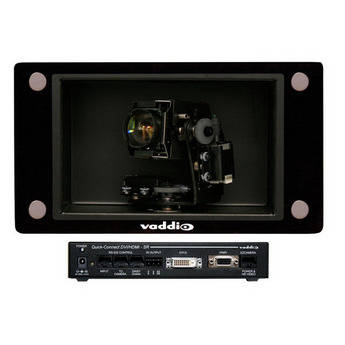 Vaddio REVEAL Clear Glass PTZ Camera with Quick-Connect DVI-D/HDMI