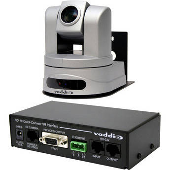 Vaddio WallVIEW HD-20 High-Definition PTZ Camera with Quick-Connect SR Interface