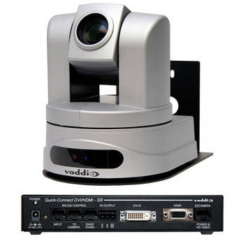 Vaddio ClearVIEW HD-20 HD Robotic PTZ Camera with Quick-Connect DVI/HDMI SR Interface