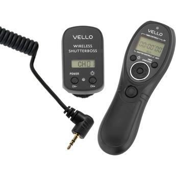 Vello Wireless ShutterBoss Timer Remote (Canon Sub-Mini Connection)