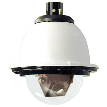 """Videolarm IP S-View Pressurized Outdoor PTZ Camera (7"""", Clear Dome)"""