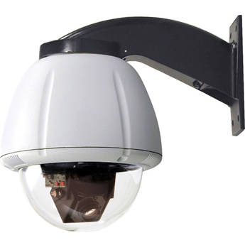 "Videolarm SView 7"" Rugged Vandal-Resistant Wall Mount PTZ IP Camera System (Clear)"