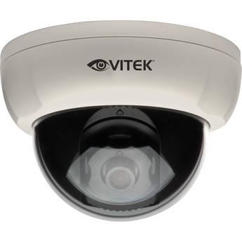 Vitek VTD-A4F/IW Indoor 620TVL Fixed Dome Camera (White Base)