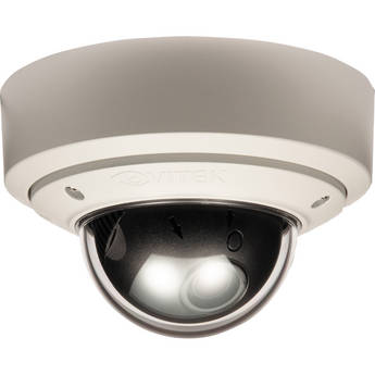 Vitek Pixim-Powered Vandal-resistant WDR Mighty Dome Camera (2.8-10mm)