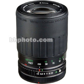Vivitar 70-210mm f/4.5-5.6 Compact Manual Focus Lens for Pentax Cameras
