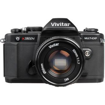 Vivitar V3800N 35mm SLR Camera with 50mm f/1.7 Lens