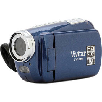 Vivitar DVR 508NHD Digital Video Recorder (Blue)
