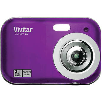 Vivitar ViviCam V25 Digital Camera (Grape)