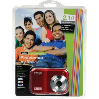 Vivitar ViviCam V25 Digital Camera (Red)