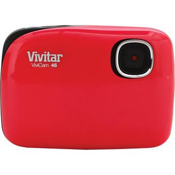 Vivitar ViviCam 46 Digital Camera (Red)