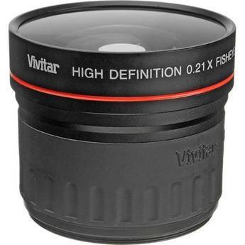 Vivitar 21-58W 0.21x Wide Angle Fisheye Conversion Lens