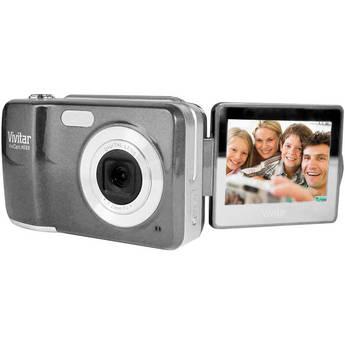 Vivitar ViviCam X028 Digital Camera (Graphite)