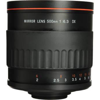 Vivitar 500MR 500mm f/6.3 Telephoto Mirror Lens for T-mount