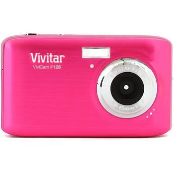 Vivitar ViviCam F128 Digital Camera (Pink)
