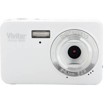 Vivitar ViviCam S131 Digital Camera (White)