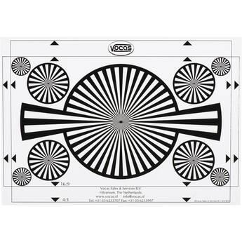 Vocas Backfocus Chart and White Card (A4)