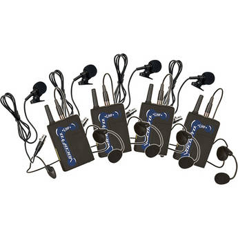 VocoPro UBP-4 UHF Wireless Bodypack Microphone Set