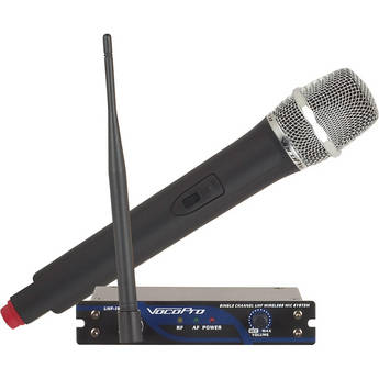 VocoPro UHF-18 Single Channel Wireless Microphone System