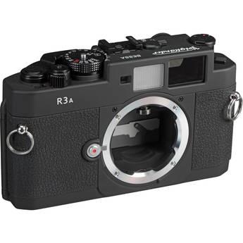 Voigtlander Bessa R3A Camera - Black-Matte