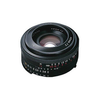 Voigtlander Ultron 40mm f/2.0 SL-II Manual Focus Lens