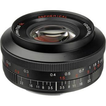 Voigtlander Color-Skopar 20mm f/3.5 SL II N Aspherical Lens for Canon EF