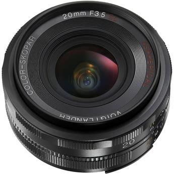 Voigtlander Color-Skopar 20mm f/3.5 SL II N Aspherical Lens for Nikon F