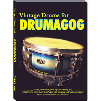 WaveMachine Labs Dan's House Vintage Drum Library for Drumagog Platinum