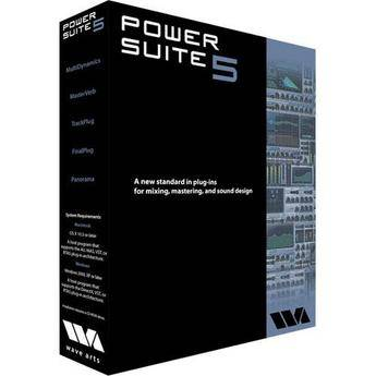 Wave Arts Power Suite 5 Mixing & Mastering Plug-in Bundle