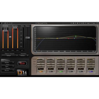 Waves L3-16 Multimaximizer - Peak Limiter Plug-In (Native)