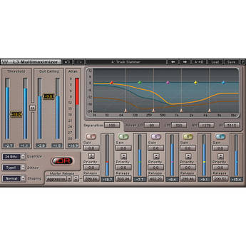 Waves L3 Multimaximizer - Multi-Band Limiter Plug-In (Native)