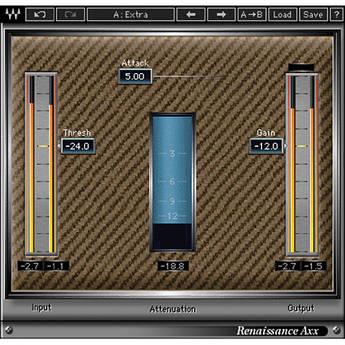 Waves Renaissance Axx - Dynamics Plug-In (Native)