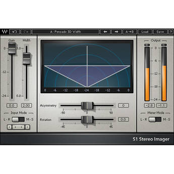 Waves S1 Stereo Imager - Stereo Enhancement Plug-In (TDM)