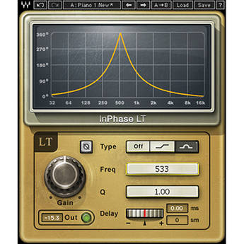 Waves InPhase LT - Creative Phasing Plug-In (Native)