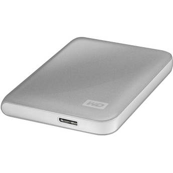 WD My Passport Essential 500GB Portable Hard Drive (Silver)