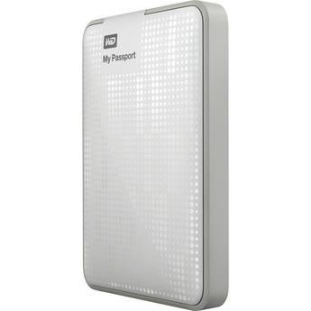 WD 500GB My Passport USB 3.0 Portable Hard Drive (White)