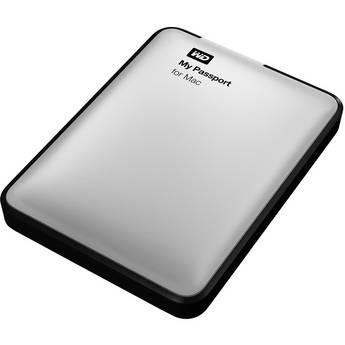 WD 500GB My Passport for Mac USB 3.0 Portable Hard Drive