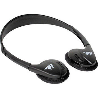 Williams Sound HED021 Deluxe Folding Mono Headphones