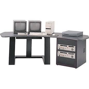 Winsted E4519 Single Pedestal Digital Desk (Black)