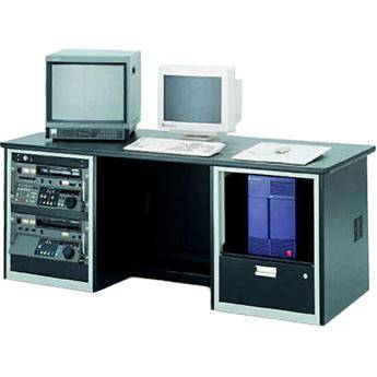 Winsted E4743 Dual-Cabinet Workstation with Two Racks