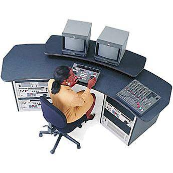 """Winsted E4781 94"""" Editing Console with Racks"""