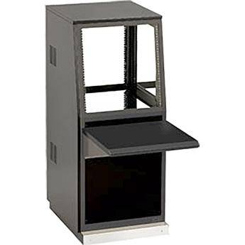 Winsted J8812 Single-Bay Slope Console, System/85 Series (Black)