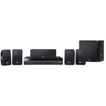 yamaha bdx 610bl 5 1 channel blu ray home theater bdx. Black Bedroom Furniture Sets. Home Design Ideas