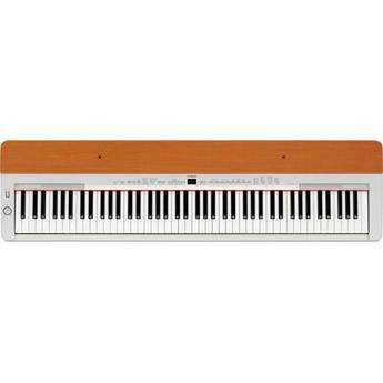 Yamaha P-155 88-Key Digital Piano (Silver/Cherry)