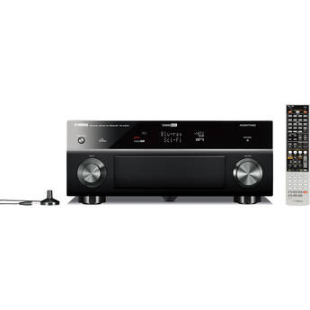 Yamaha rx a1000bl home theater receiver black rx a1000bl b h for Yamaha home theater amplifier